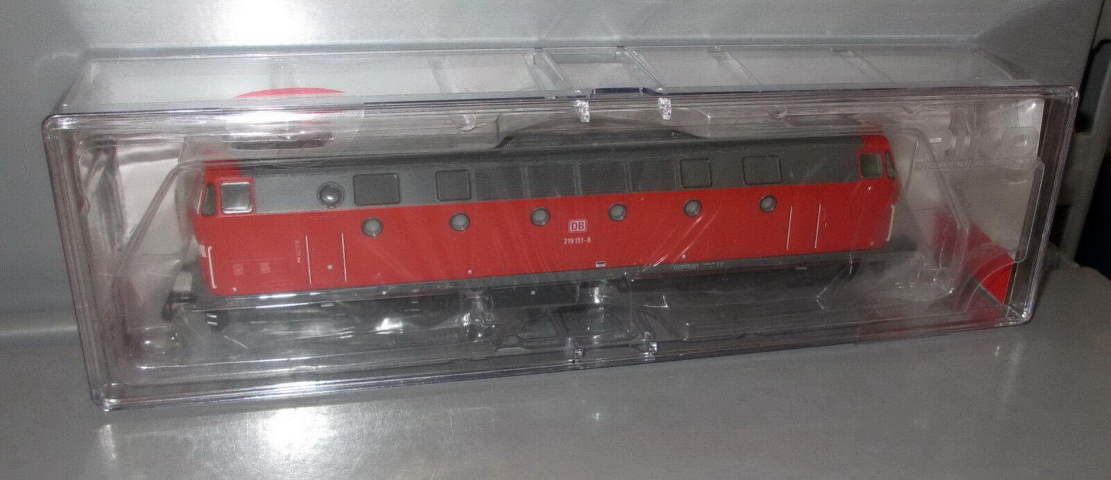Piko TT 47341 DB AG diesellok br 219, puntas de luz abajo, época V _ nuevo