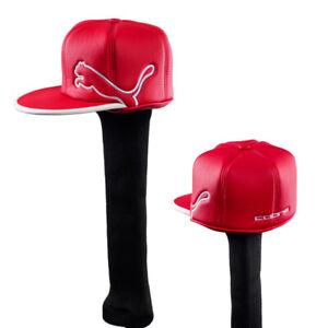 NEW-Cobra-Puma-Rickie-Fowler-Monoline-Hat-Red-White-Driver-Headcover