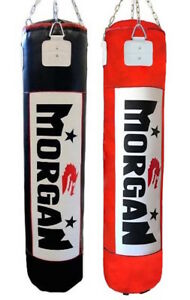 MORGAN-PUNCH-BAG-5FT-FILLED-BOXING-TRAINING-KICK-EXERCISE-PUNCHING-SPARRING