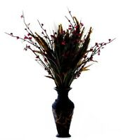 Home Interiors Celebrating Home Seagrass Vase