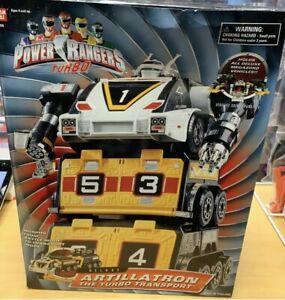 Bandai Power Rangers Turbo Deluxe Artillatron Sealed Case 2 Pc Artillatron MISB