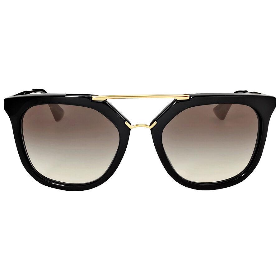 Cross Border:-Prada Black Catwalk Cinema 49 Mm Sunglasses low price