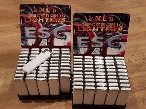 100x Feuerzeug Elektronikfeuerzeug nachfüllbar Sonderposten Feuerzeuge Flohmarkt