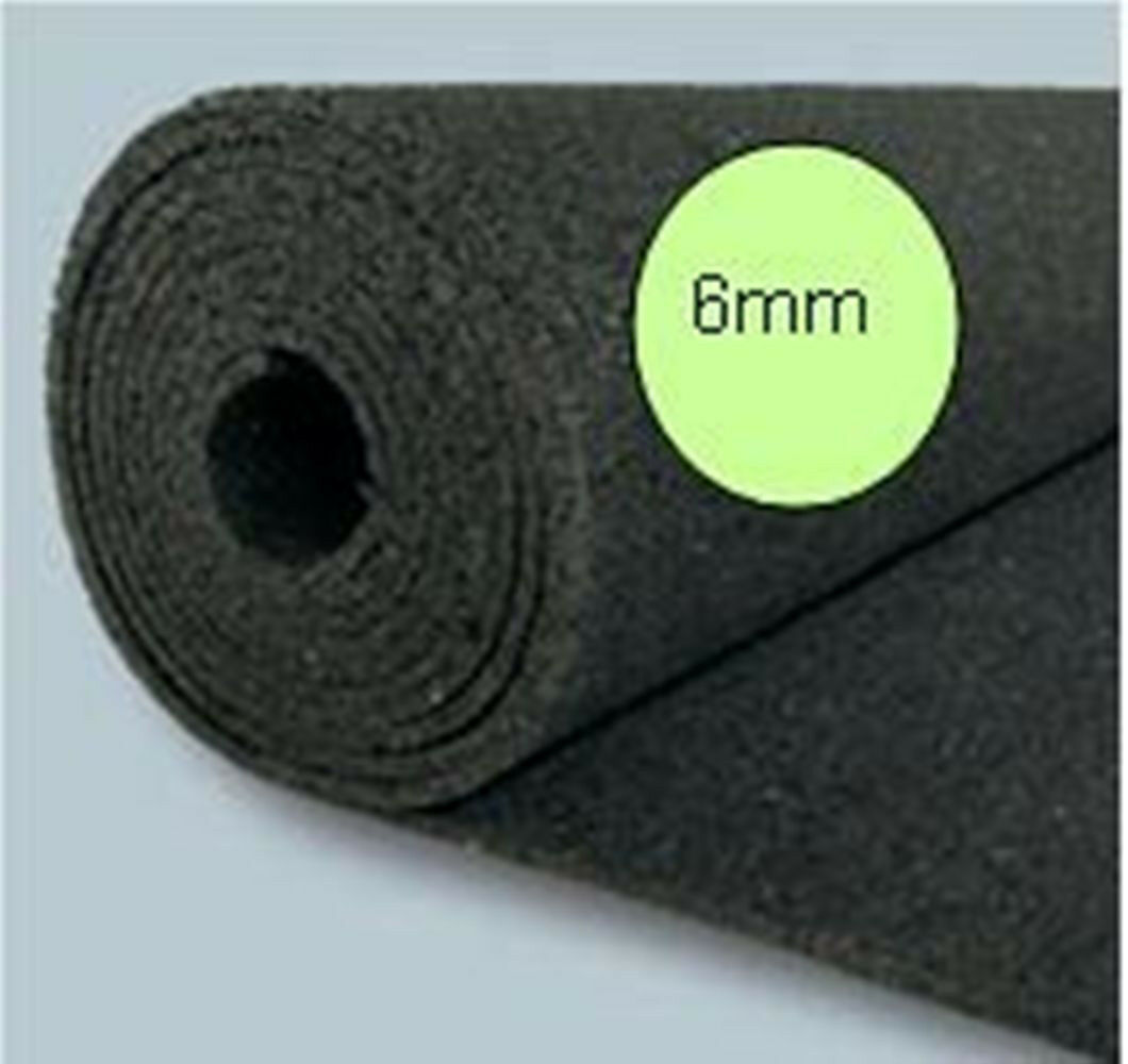 . 12,5m²Bautenschutzmatte BM , Gummimatte Antirutsch 6mm ddde preis günstig