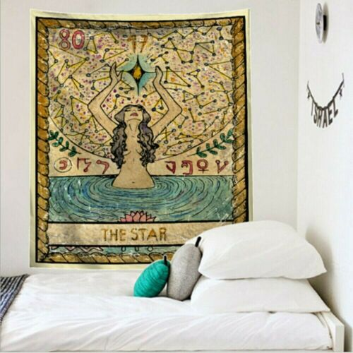 Tarot Card Blanket Tapestries The Sun Moon Wall Hanging Tapestry Home Decor