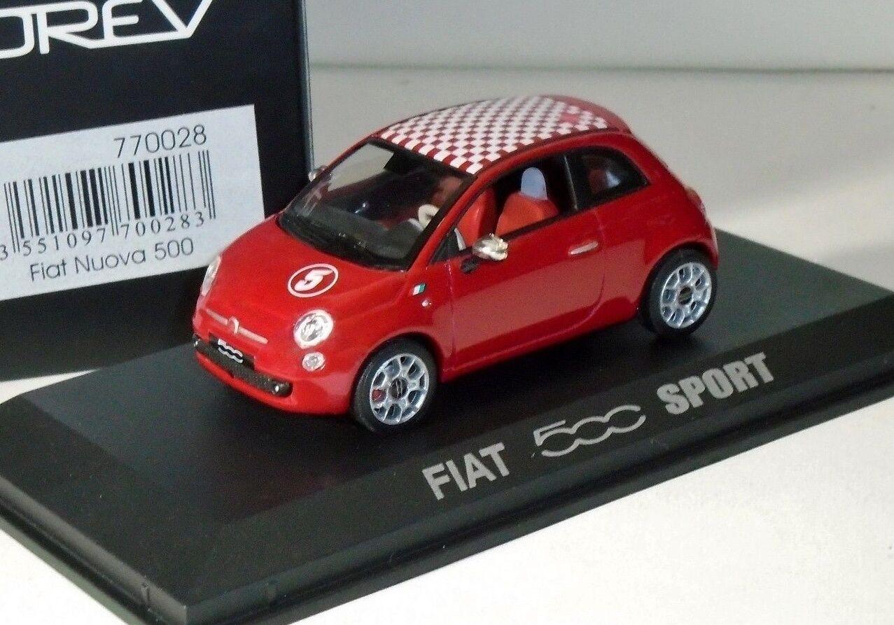 FIAT 500 NUOVA SPORT RED NOREV 770028 770028 770028 1 43 1c595c