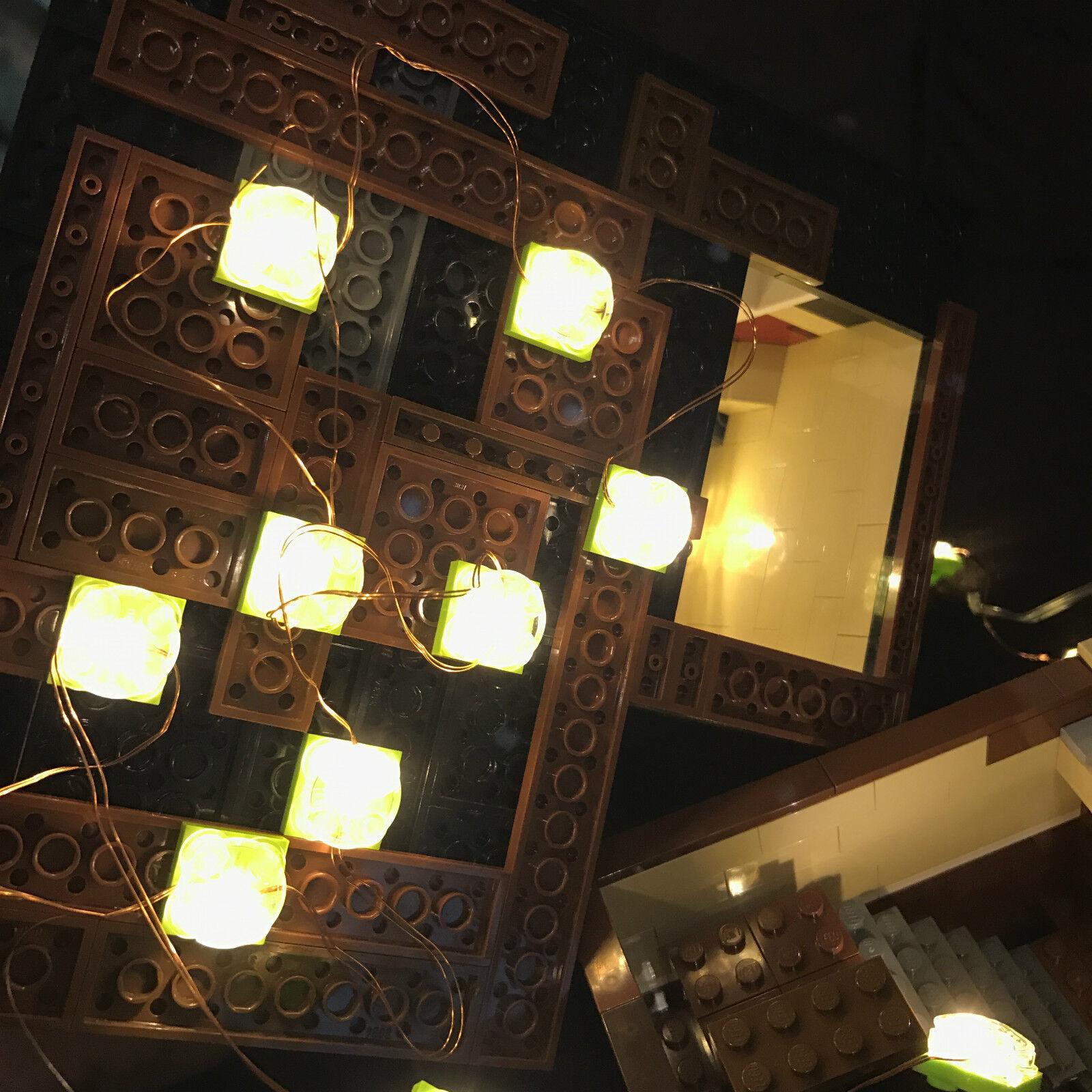 Lego creator expert modular Kit Kit Kit de LED de iluminación de construcción, blanco cálido
