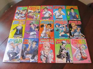 DROLES DE RACAILLES - Tomes 1 à 15 - Lot de 15 mangas