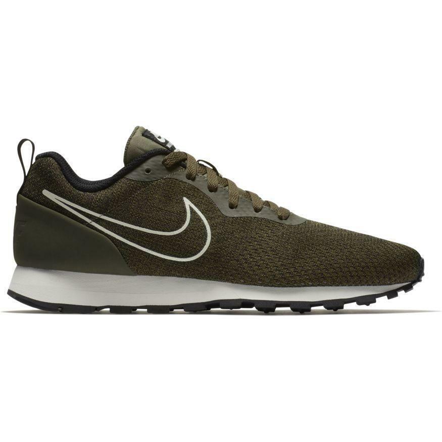 Herren Nike Md Runner 2 Eng Netz Dunkelgrün Turnschuhe 916774 300