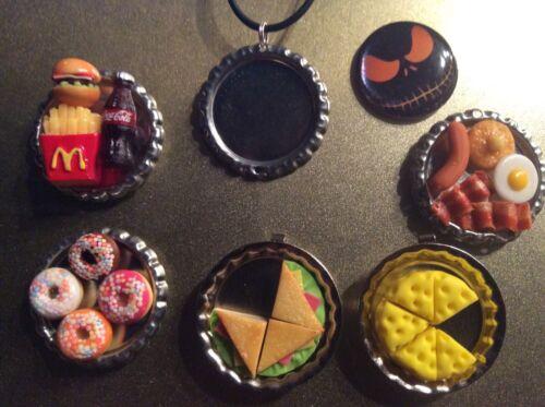 6 Food Drink Resin 3D Fridge Magnet Handcraft Lot Kitchen Handmade Mini Style