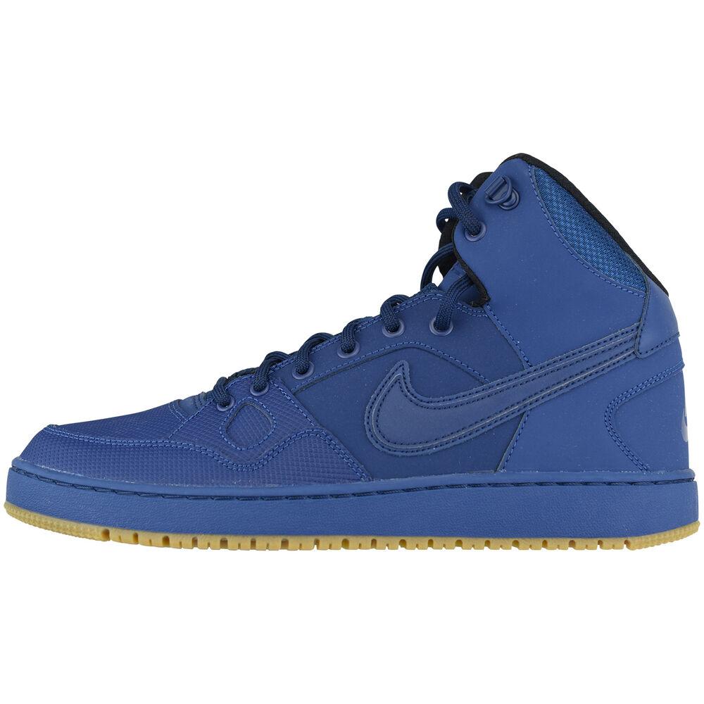 Nike son of force mid hiver cuir 807242-400 Lifestyle Chaussures en cuir hiver sneaker- Chaussures de sport pour hommes et femmes ba18b9
