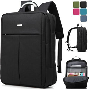 Image is loading 15-6-inch-Laptop-Backpack-Waterproof-Shoulder-Rucksack- 0db8f42bbade3