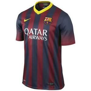 size 40 351fa e5389 Details about NIKE FC BARCELONA HOME JERSEY 2013/14.