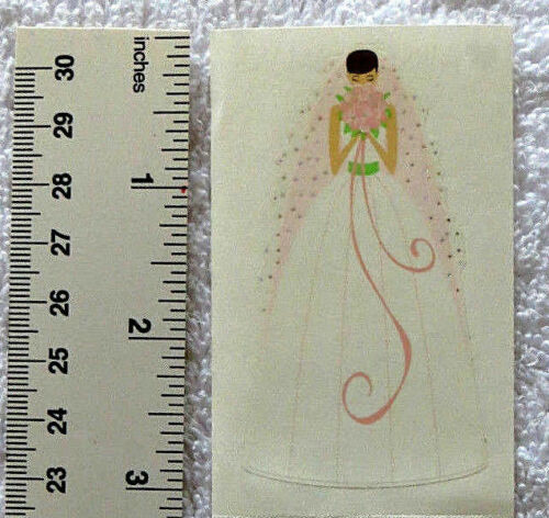 Mrs Grossman BLUSHING BRIDE Reflections Half Strip Beautiful Bride Stickers/'