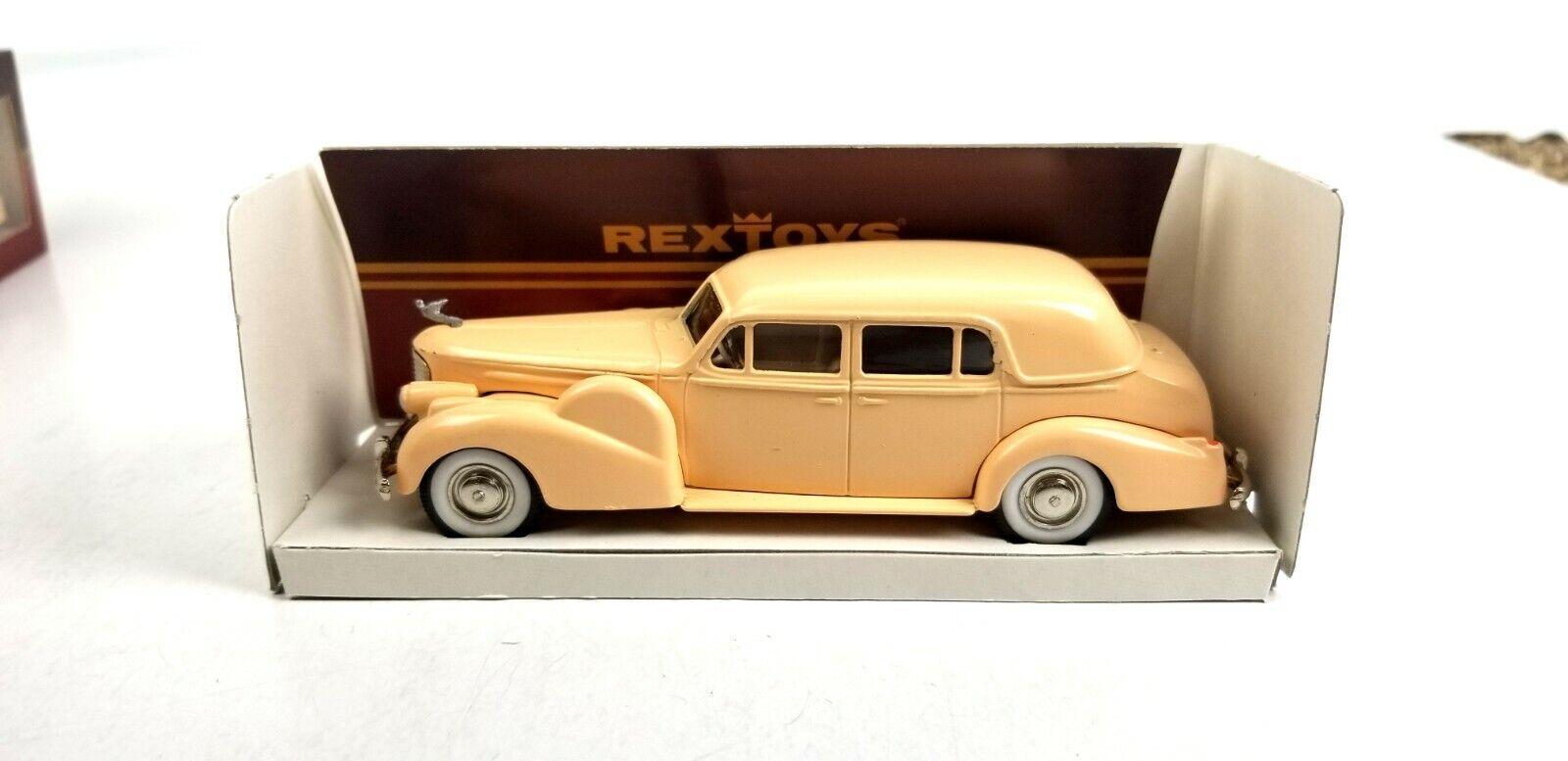 diseño único RexJuguetes RexJuguetes RexJuguetes 1938-40 Cadillac V16 conduite interieure 1 43 o escala Diecast Modelo de Coche  grandes precios de descuento