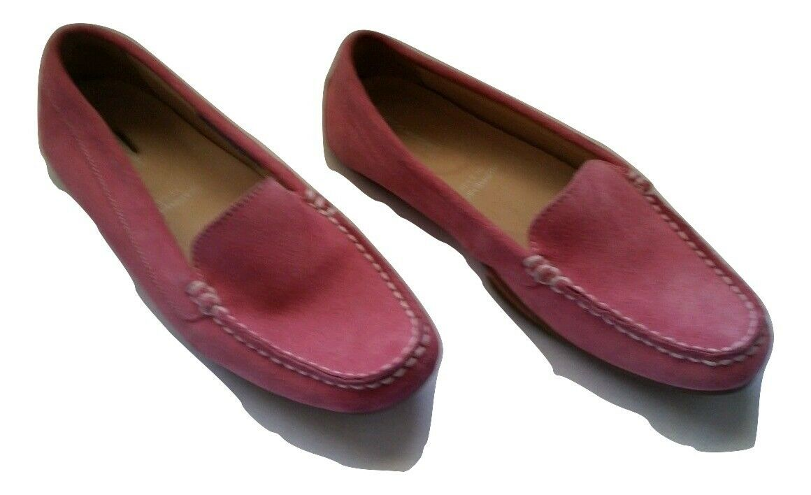 Rockport Wouomo Shore Bets Seaworthy Washable rosa Suede  SzUS 6.5 EU 37 - NWOB