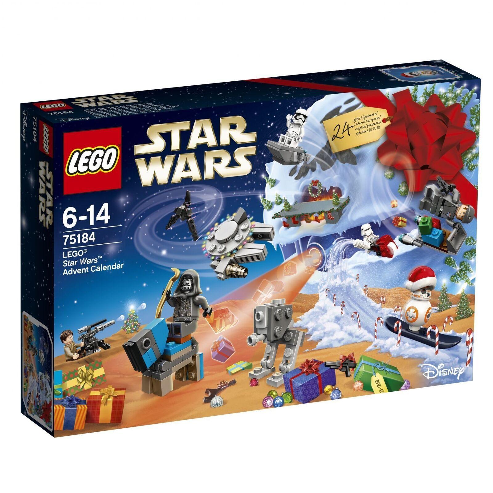 LEGO ® Star Wars ™ 75184 75184 75184 calendrier de l'avent 2017 nouveau new neuf dans sa boîte En parfait état, dans sa boîte scellée c5580e
