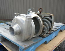 3 X 2 Inlet Amp Outlet Centrifugal Pump Stainless Steel Sanitary