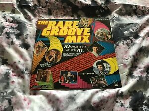 The-Rare-Groove-Mix-Double-Special-Sequenced-12-034-Vinyl-LP-Album-1988