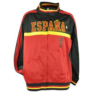 00479678e FIFA World Cup 2014 Espana Spain Track Jacket Zip Up Sweater Soccer ...
