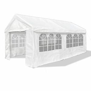Partyzelt-Festzelt-Bierzelt-Pavillon-Seitenwaende-38kg-3-x-6m-Extra-stabil-weiss