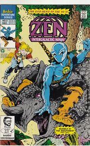 Zen-Intergalactic-Ninja-3-Comic-Book-Archie-Very-Fine-Near-Mint