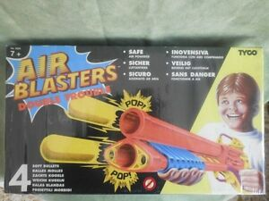 Air Blasters Double Trouble Fondo Di Magazzino Jouet Vintage