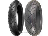 Shinko 200/50-17 120/70-17 005 Advance Motorcycle Tire Set 87-4010 / 87-4018