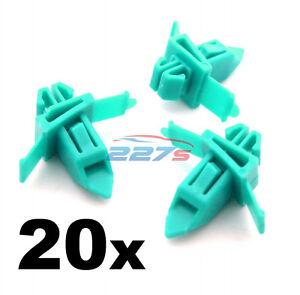 20x INFERIORE LATO stampaggio clip /& Passaruota Tagliare Clip Toyota Land Cruiser Prado