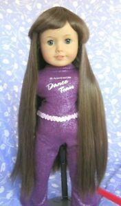 Monique-114-Lt-Brown-Full-Adj-Cap-Doll-Wig-Size-10-11-American-Girl-Sz