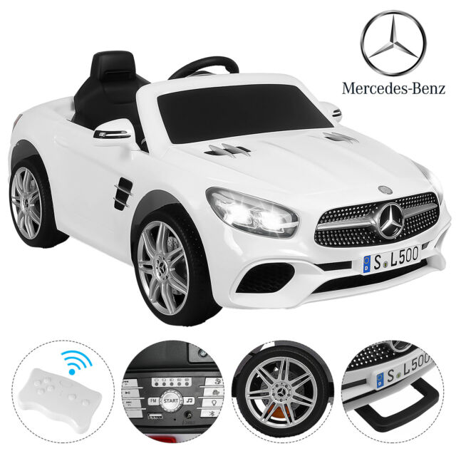 12V Electric Kids Ride On Toy Cars Benz SL500 w// Remote 6 Speeds Control Pink