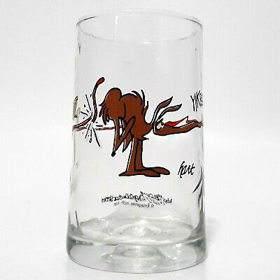 B.C John Hart BC Comic Fat Broad Ice Age Collector Series Arby/'s Glass Tumbler
