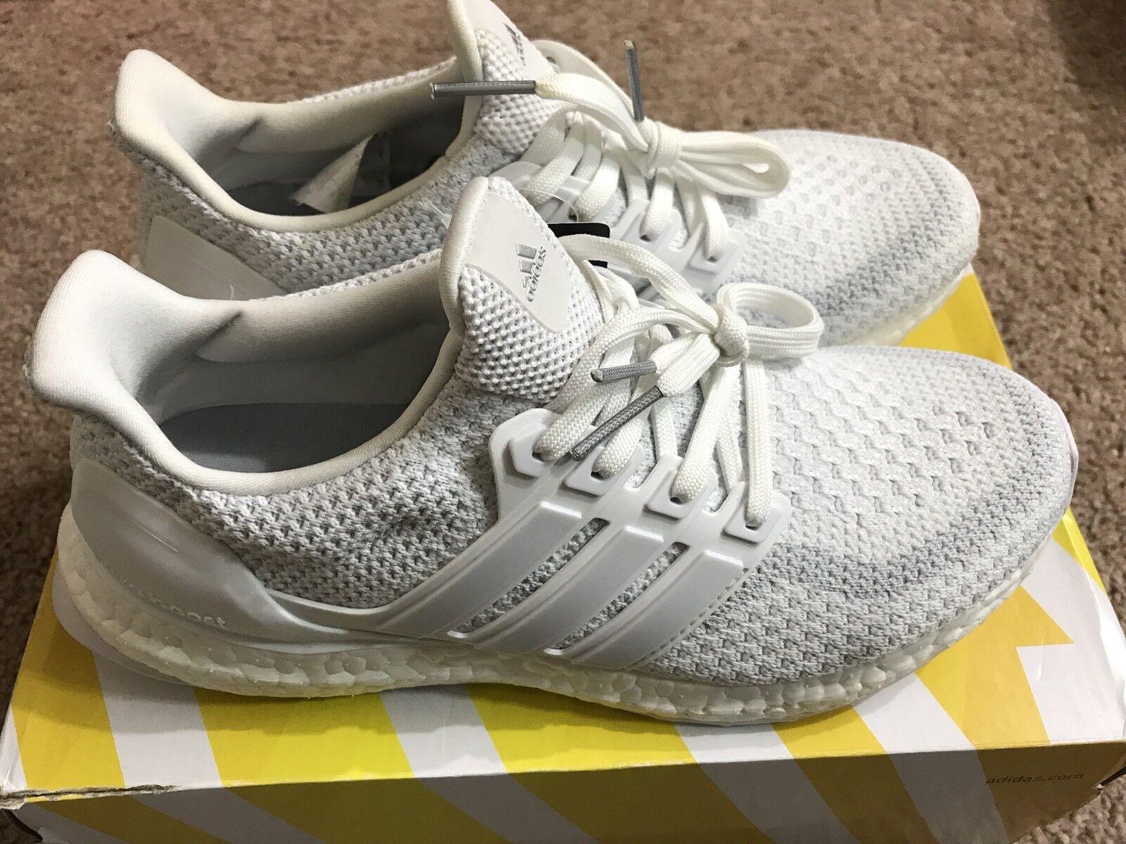40e9e088ac9 Adidas Ultra Boost J 2.0 Triple White Kid 7 Sneaker Youth Women 8 Running  Sneaker 7 ...