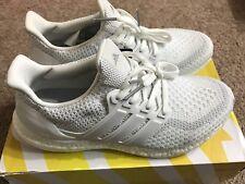 82e3f8f7cdd080 Adidas Ultra Boost J 2.0 Triple White Kid 7 Youth Women 8 Running Sneaker  BA9274
