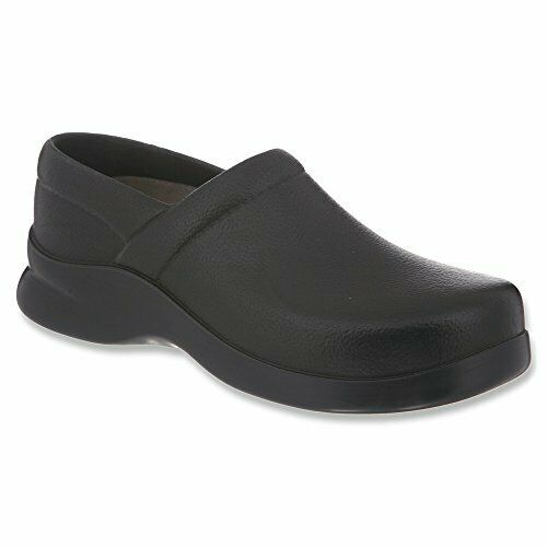 Klogs Footwear Men's Bistro Closed Back Chef Clog, Black