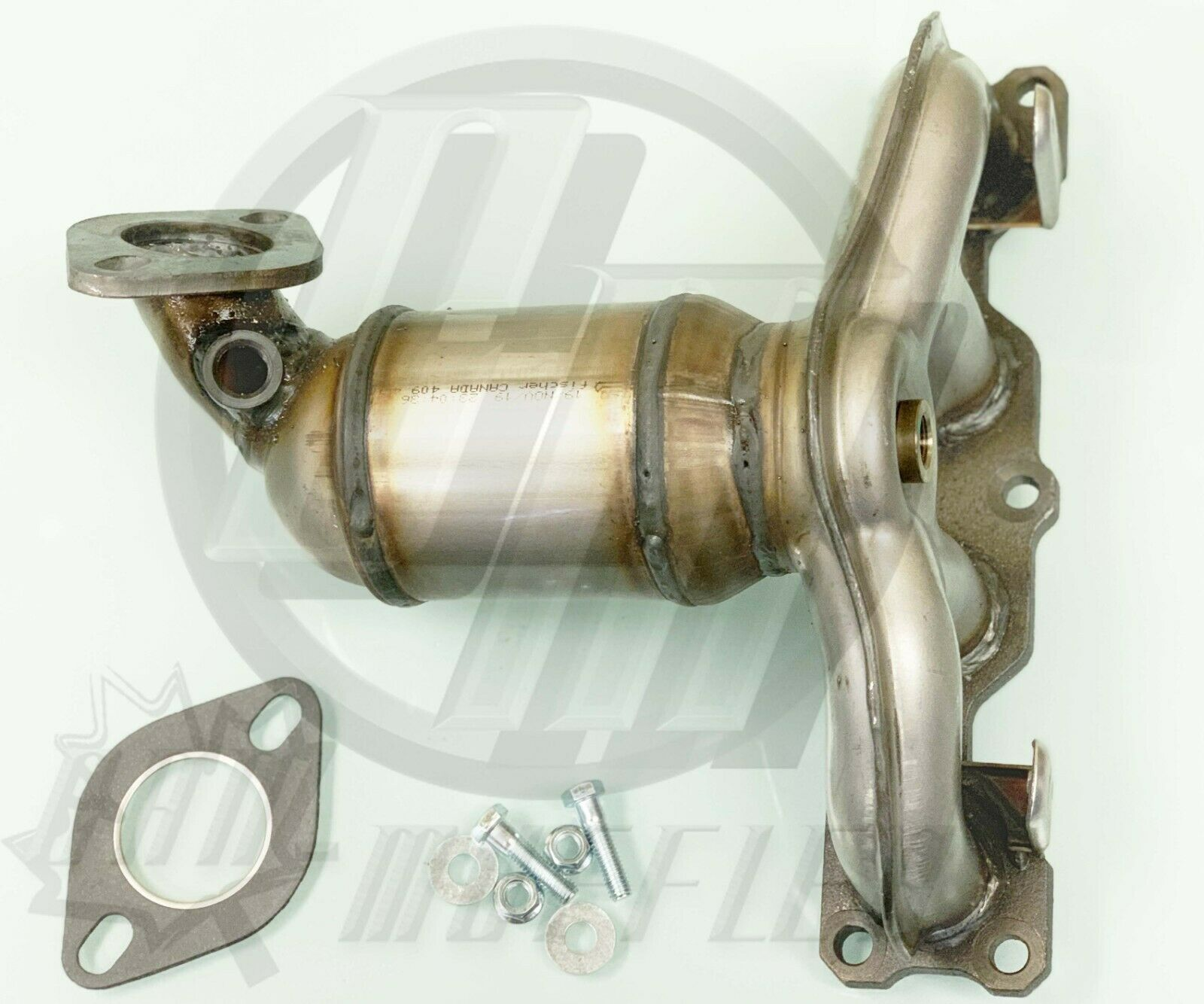 FITS HYUNDAI TUCSON 2.7L V6 Bank2 Manifold Catalyic Converter 2005-2009