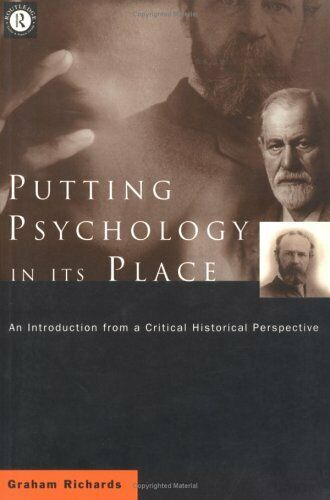 Setzen Psychology IN Seinem Place: : an Introduction From A Critical