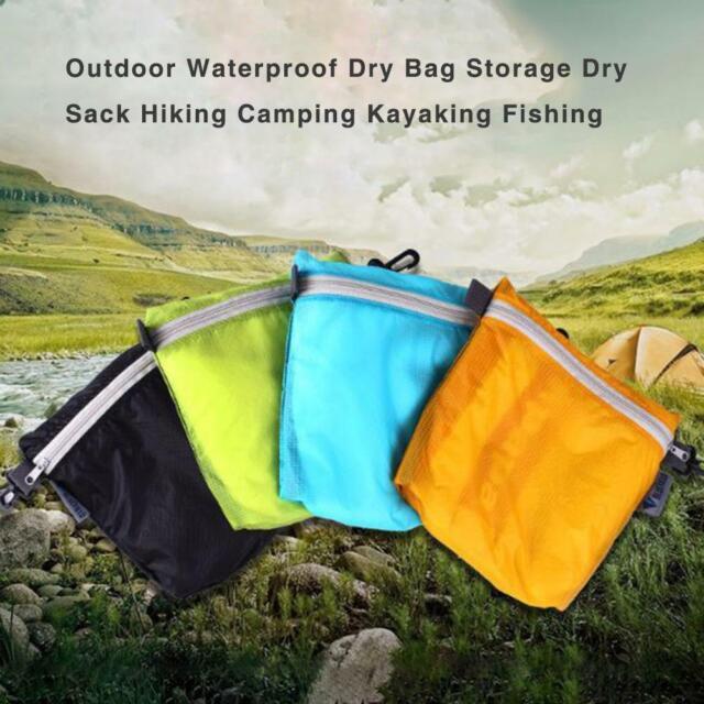Portable Waterproof Stuff Sack Storage Drawstring Bag For Travel Camping Hiking