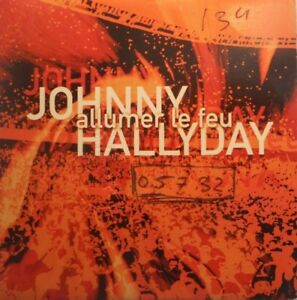 JOHNNY-HALLYDAY-ALLUMER-LE-FEU-RARE-PROMO-CD-SINGLE