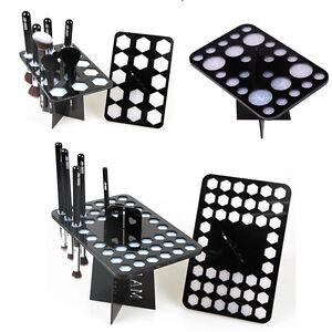 14-26-42-Holes-Makeup-Cosmetic-Brush-Dryer-Organizer-Holder-Folding-Drying-Rack