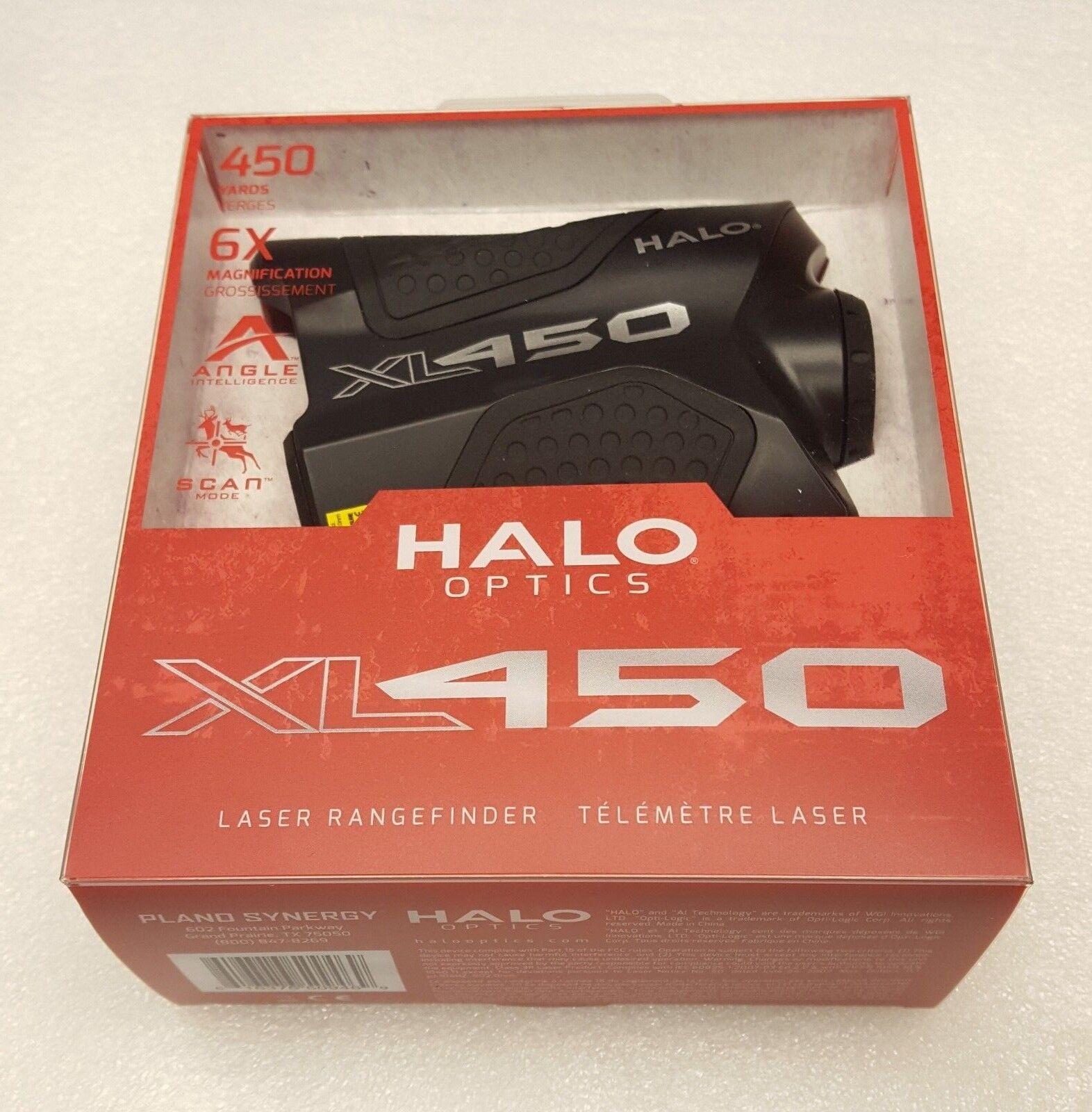 Halo Optics XL-450 6x 450 YD (approx. 411.48 m) Distanciómetro Láser-XL450-7