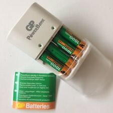 GP AA / AAA Battery Charger (Package includes 4 AA 1800mAh batteries) 0300503003