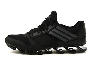 773bc4f9370d ADIDAS SPRINGBLADE SOLYCE MENS RUNNING TRAINERS BLACK UK SIZE 6.5 ...