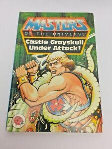 Il-Castello-di-Grayskull-sotto-attacco-1984-LIBRO-He-Man-Masters-of-the-Universe-MOTU-1