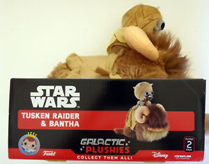 "Tusken Raider /& Bantha Star Wars Galactic Plushies 12/"" Plush Funko New"