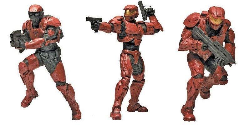 Halo - Squad 3  - UNSC Troops 3-PZ - Mini cifra  outlet online