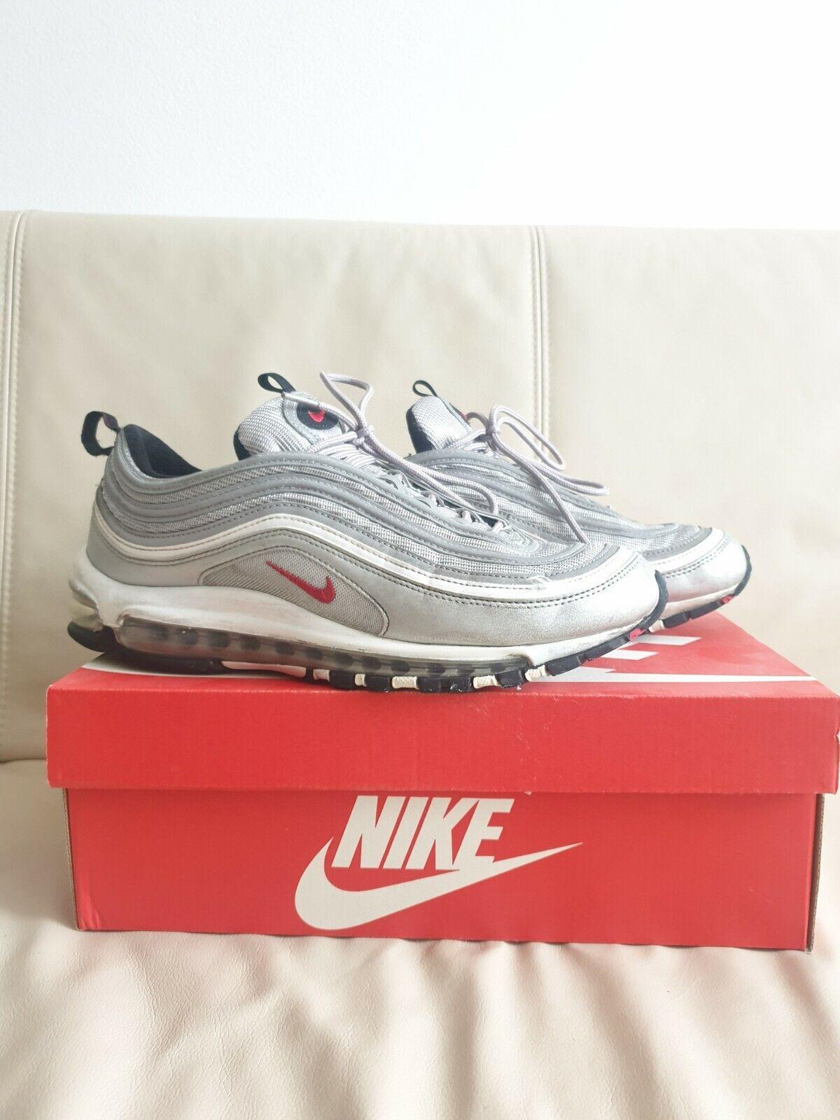 Size 10 - Nike Air Max 97 OG QS 2017 Silver Bullet for sale online ...