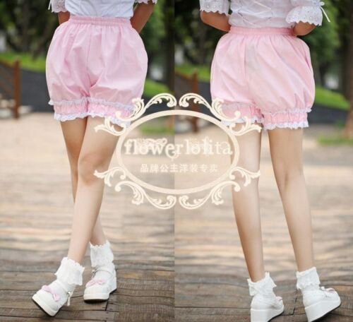 1 Pc Lolita Pumpkin Shape Exposed Outer Wear Safety Short Pants 3 Colors Cosplay