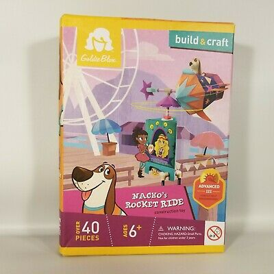 GoldieBlox Blox /& Bits Cloth Bag 32 Pieces Build Spatial Skills NEW