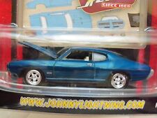 JOHNNY LIGHTNING - JOHNNY RETRO - (1969) '69 PONTIAC GTO - DIECAST